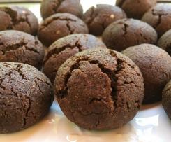 Biscoitos de Trigo Sarraceno  e chocolate Sem Gluten/ Sem Lactose