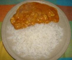 Thaira's Chicken Tikka Masala (Frango Indiano)