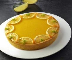 Tarte de limão e laranja do Chef Luca Montersino (Italia)