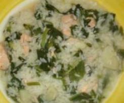 arroz de grelos
