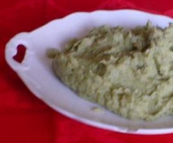 Puré de Brócolos e Batata Doce