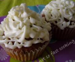 Cupcakes de Caramelo com Cobertura de Creamcheese