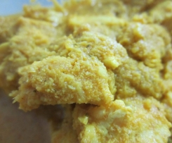 Caril de peito de frango sem leite de coco